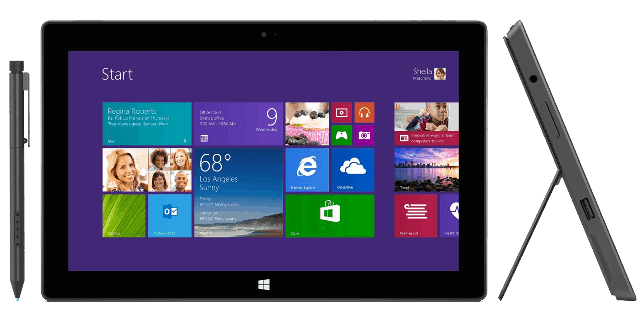 Microsoft Surface Pro 1 Specs - Full Technical Specifications