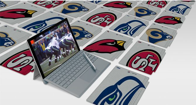 Microsoft Surface Special Edition NFL Type Cover