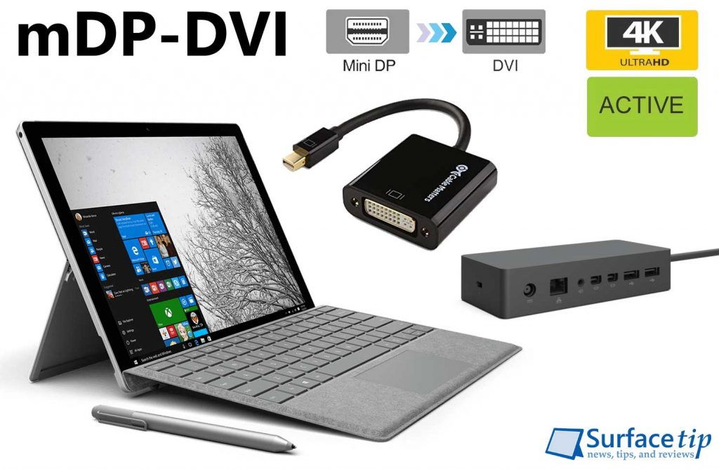 Best Active Mini DisplayPort to DVI Adapter for Microsoft