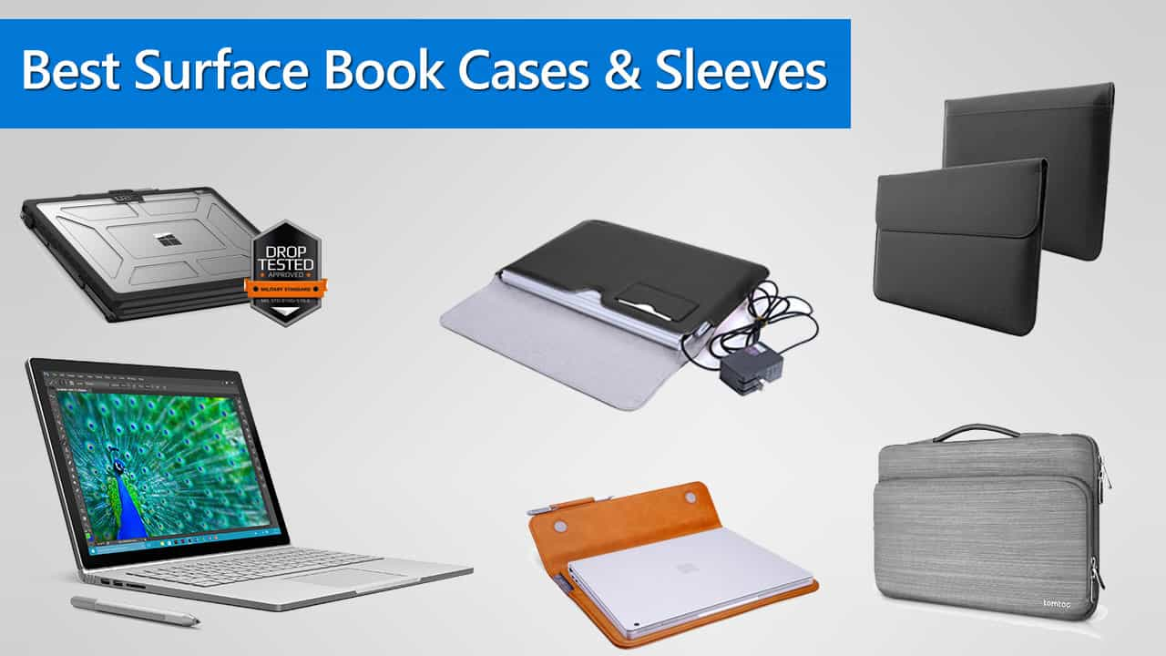 Best Surface Book Cases and Sleeves