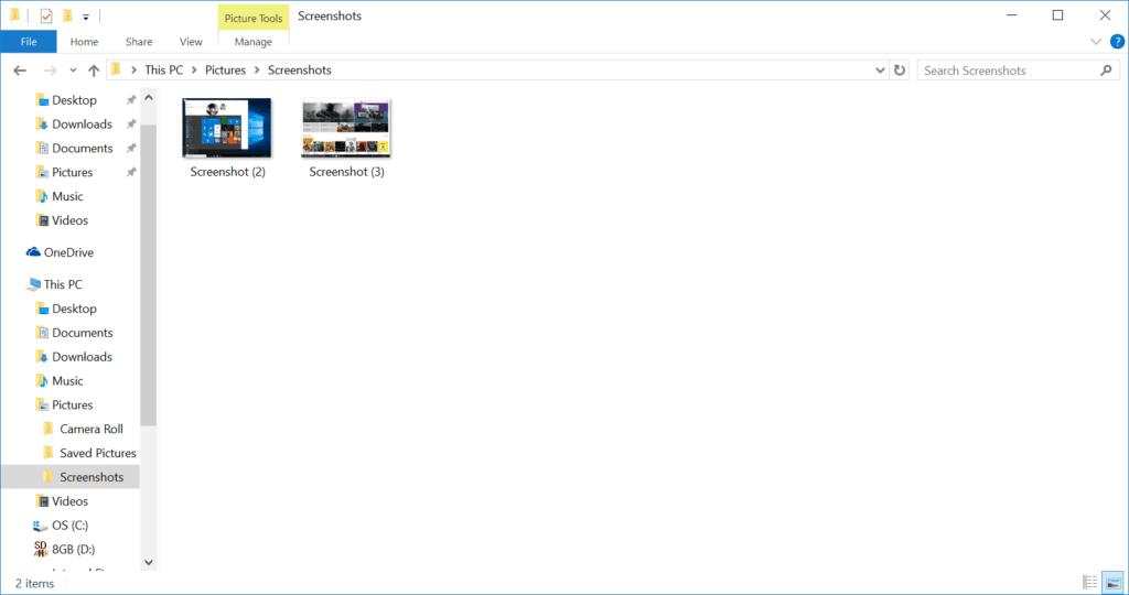 screenshots-folder