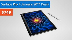 Surface Pro 4 January 2017 Deals