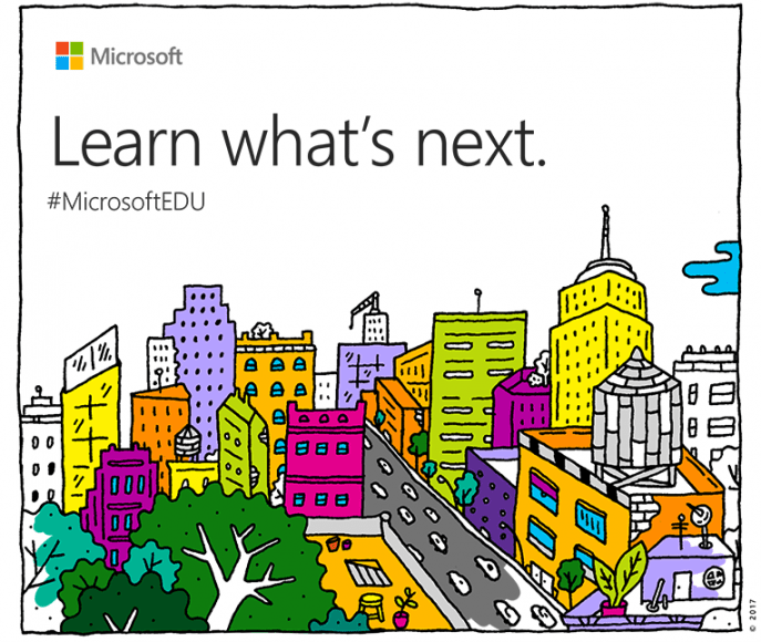 Microsoft May Event Invitation