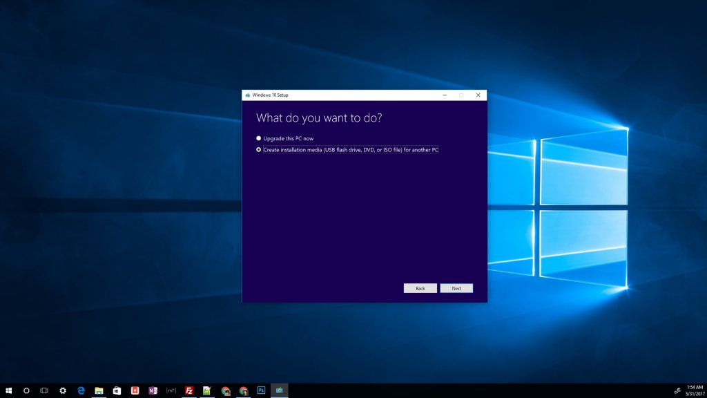 windows 10 download usb installer