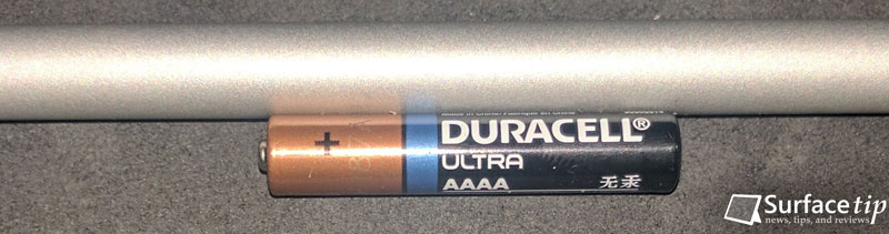 Surface Pen AAAA battery