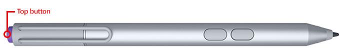 Surface Pro 3 Pen's top button