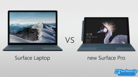 Surface Laptop vs new Surface Pro 2017