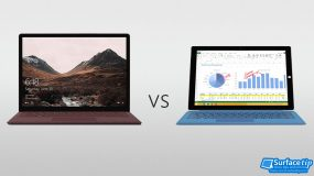 Surface Laptop vs. Surface Pro 3