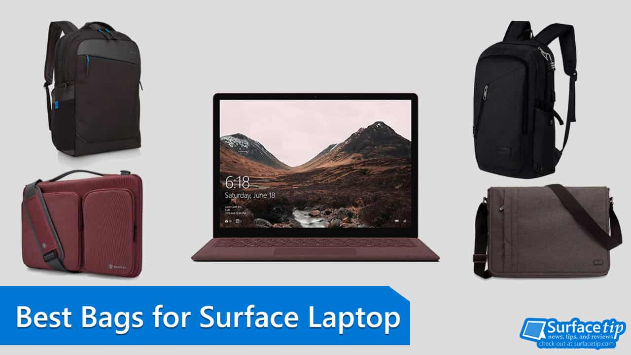 f1b9cae5e910 The Best Surface Laptop Bags - For Student and Professional for 2019