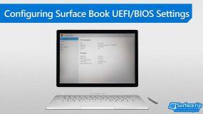 How to Configure Surface Book UEFI/BIOS Settings