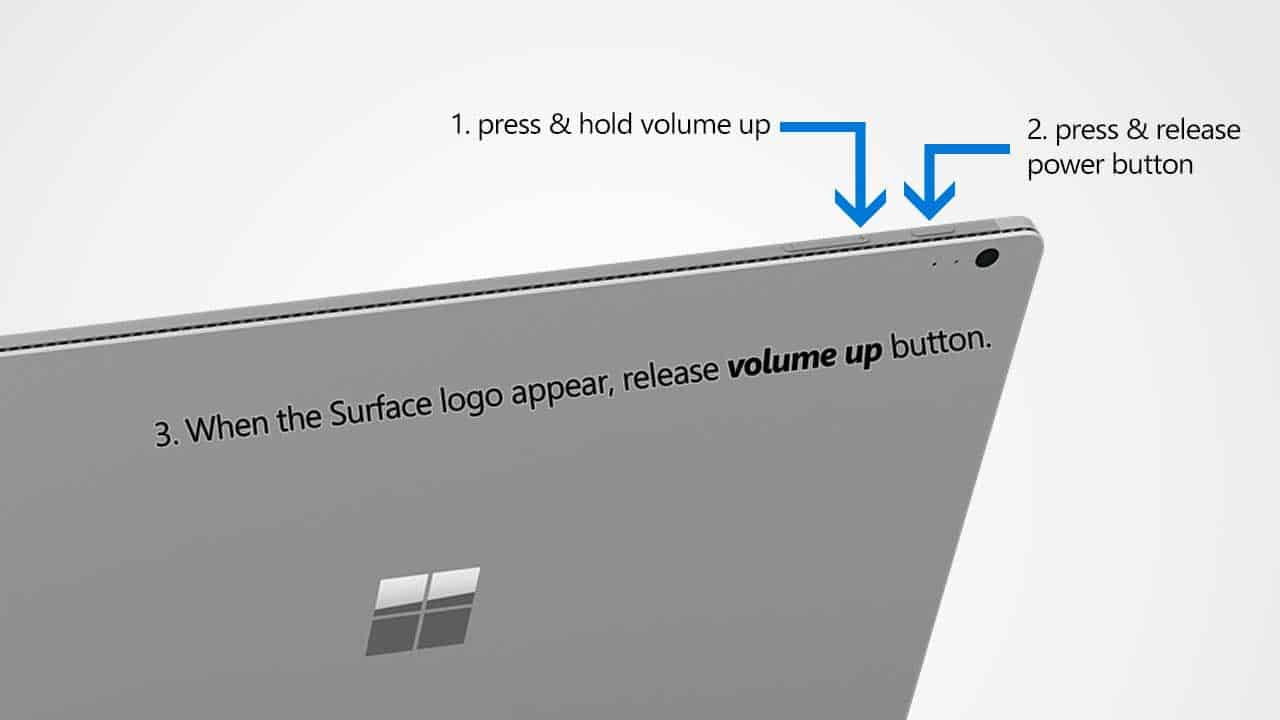 windows surface pro 3 volume button