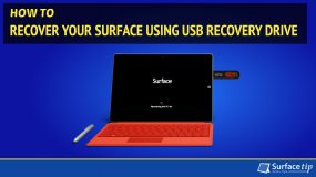 How to Reset Your Surface Using USB Recovery Drive