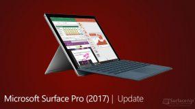 Microsoft Surface Pro (2017) Firmware Updates