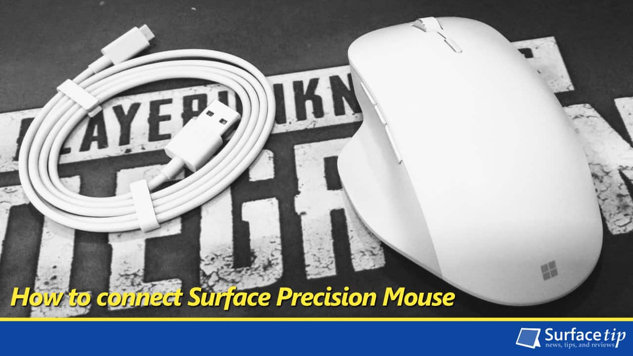 be294e97cae How to connect the Microsoft Surface Precision Mouse to your Computer