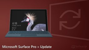 Microsoft Surface Pro (2017) Update
