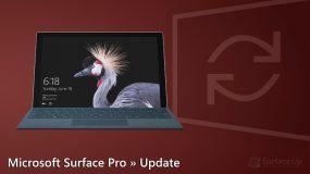 Microsoft Surface Pro (2017) Update