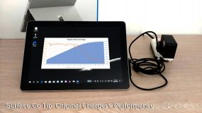 Original Surface Go Charger's Performance