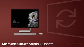 Surface Studio 2 Firmware Update