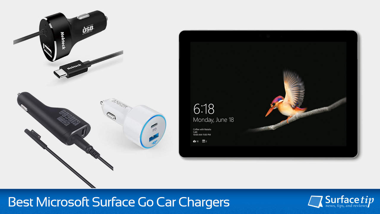 Best Surface Go Car Chargers