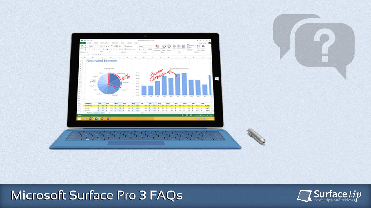 Microsoft Surface Pro 3 FAQs