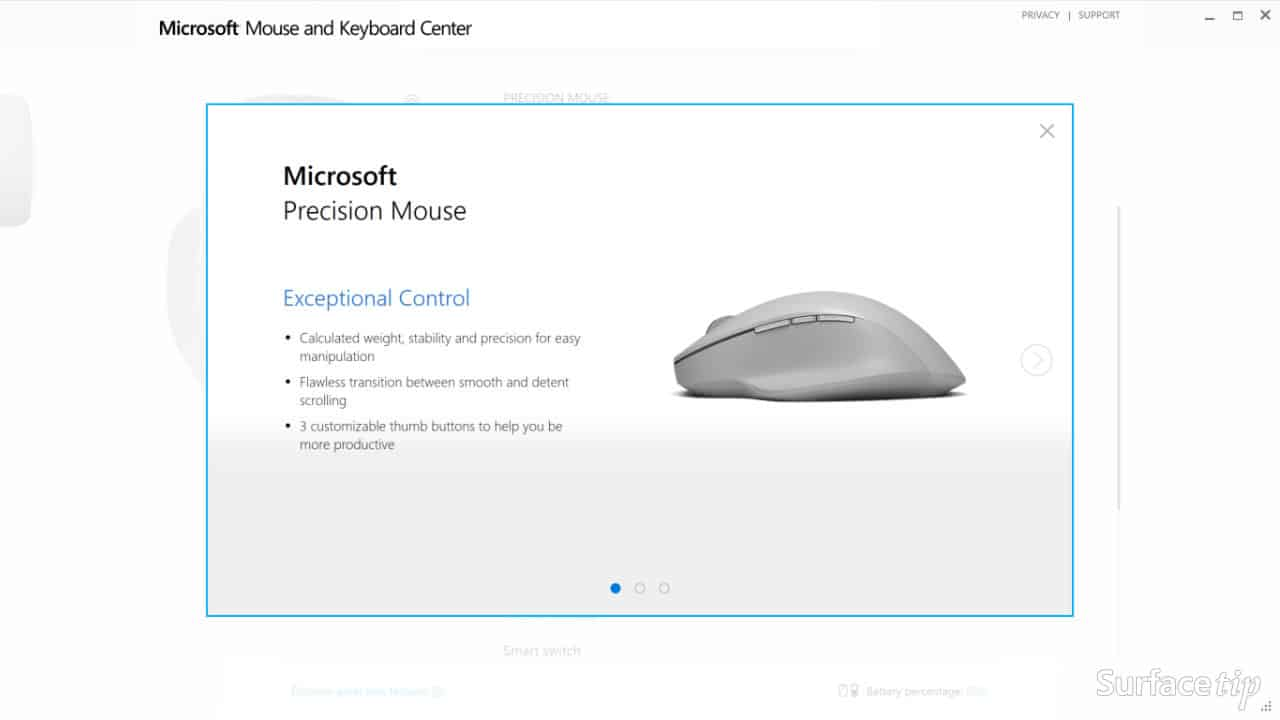 what is microsoft mouse and keyboard center