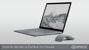 How to connect a Surface Arc Mouse to your Computer