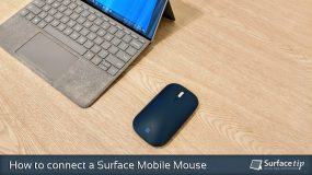 How to connect Surface Mobile Mouse
