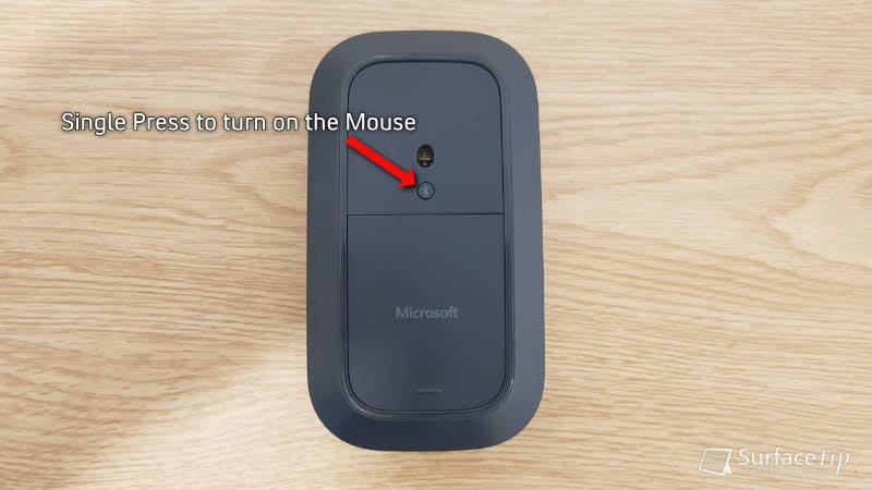 Turn on Surface Mobile Mouse