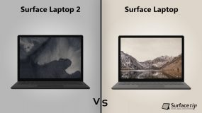 Surface Laptop 2 vs. Original Surface Laptop