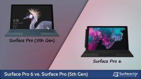 Surface Pro 6 vs. Surface Pro 5