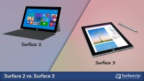 Surface 2 vs. Surface 3
