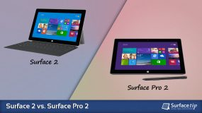 Surface 2 vs. Surface Pro 2 – Full Specs Comparison