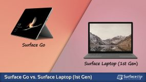 Surface Go vs. Surface Laptop