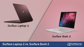 Surface Laptop 2 vs. Surface Book 2