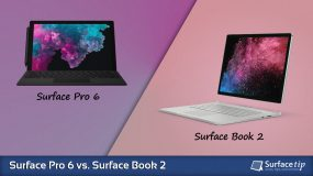Surface Pro 6 vs. Surface Book 2