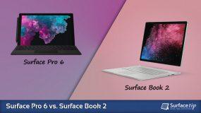 Surface Pro 6 vs. Surface Book 2 – Detailed Specs Comparison