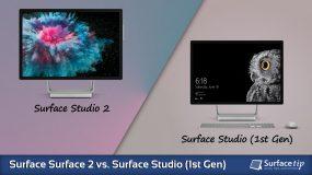 Surface Studio 2 vs. Surface Studio 1