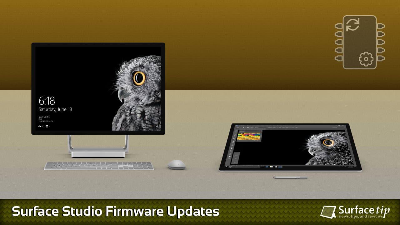 Surface Studio Firmware Update