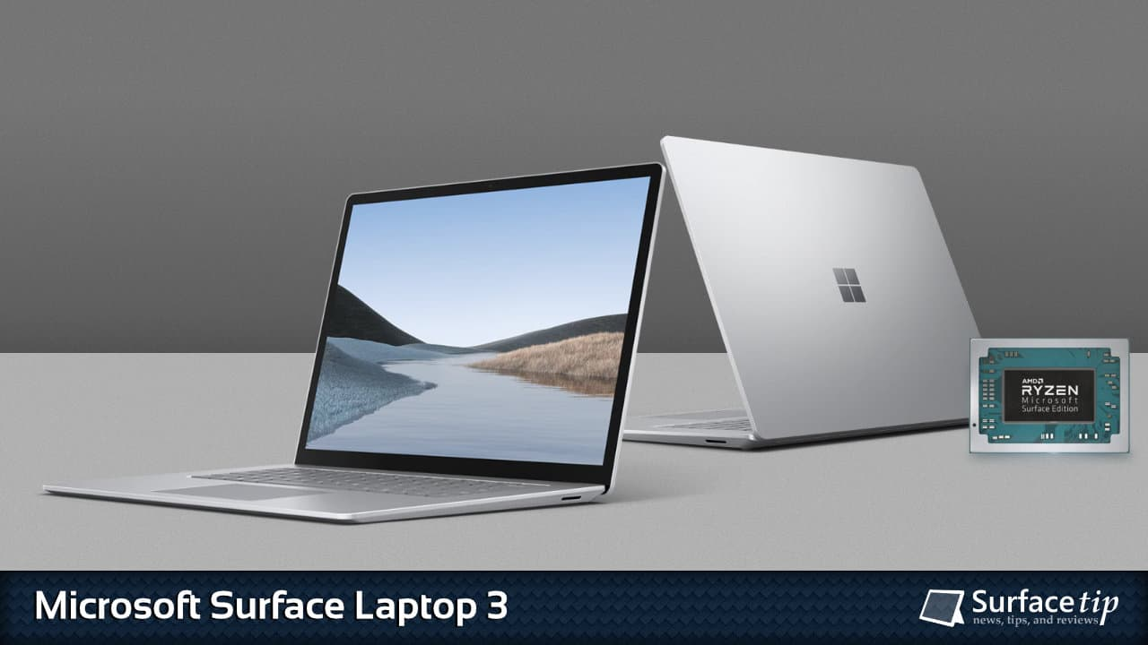 Microsoft Surface Laptop 3 Specs Full Technical Specifications