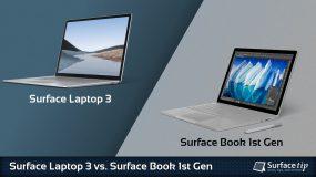 Surface Laptop 3 vs. Surface Book 1