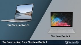 Surface Laptop 3 vs. Surface Book 2
