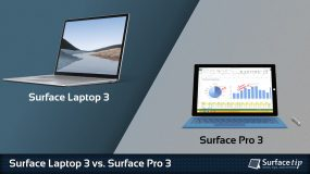 Surface Laptop 3 vs. Surface Pro 3