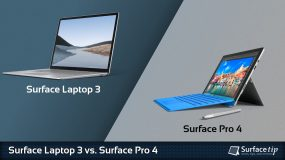 Surface Laptop 3 vs. Surface Pro 4