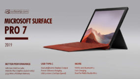 Microsoft Surface Pro 7 Specs – Full Technical Specifications