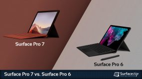 Surface Pro 7 vs. Surface Pro 6
