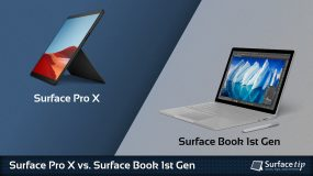 Surface Pro X vs. Surface Book 1