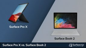 Surface Pro X vs. Surface Book 2