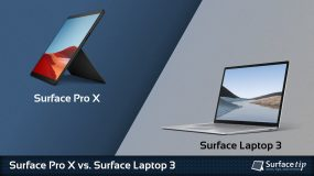 Surface Pro X vs. Surface Laptop 3