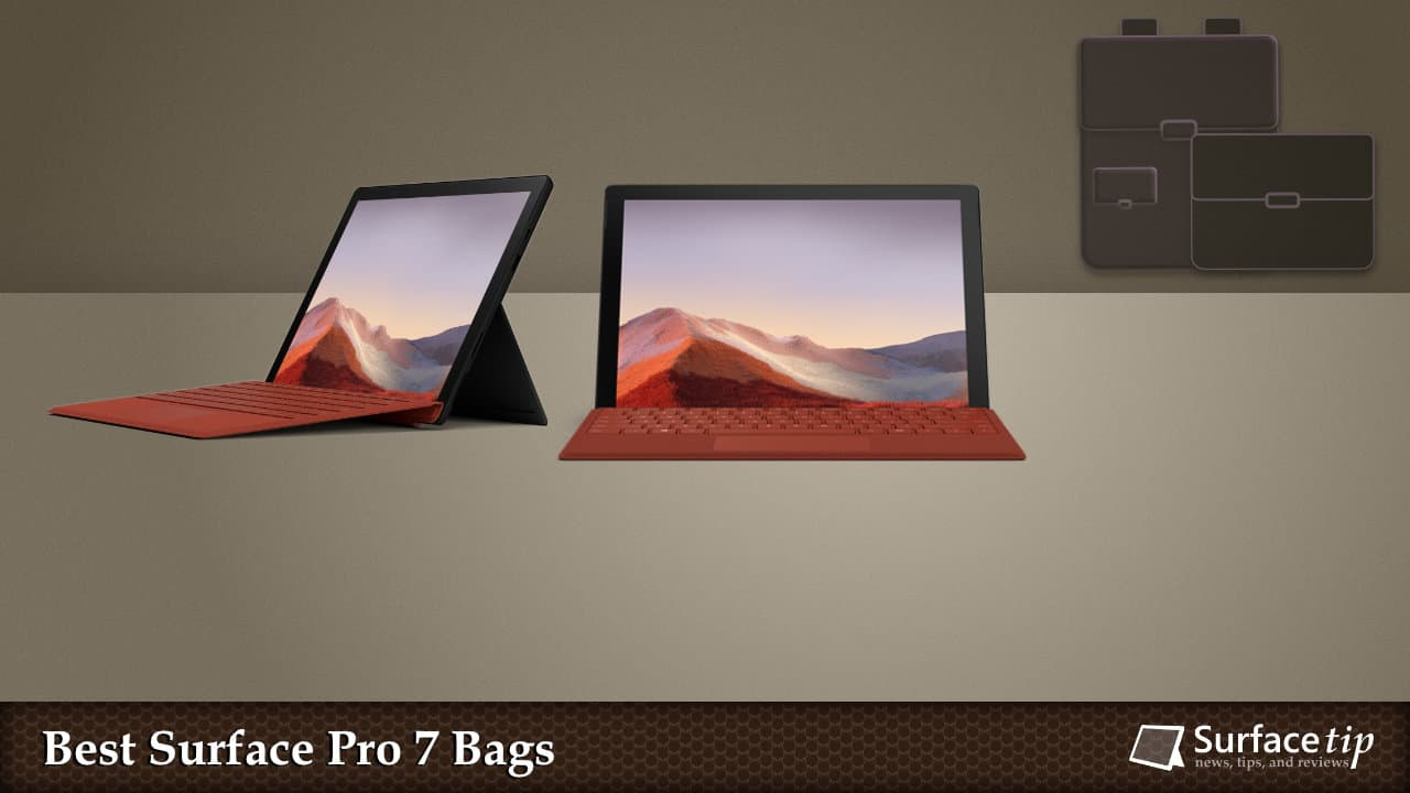 Best Bags for Surface Pro 7