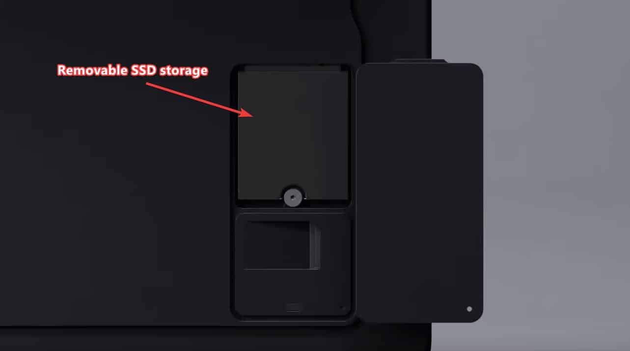 Surface Pro X Removable SSD Storage